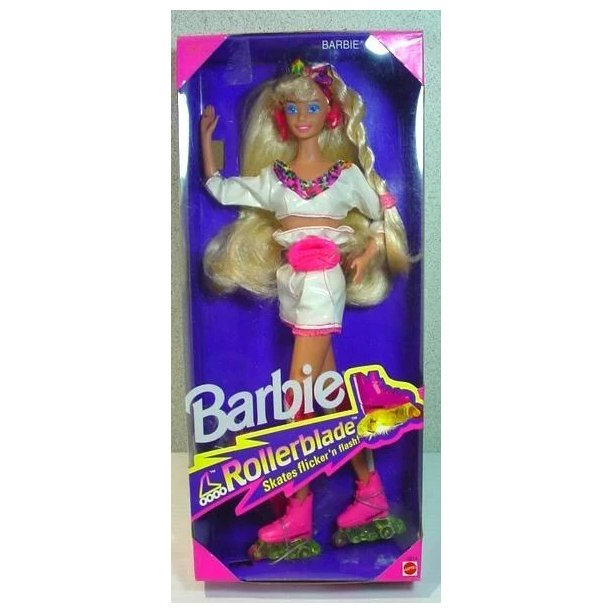 BARBIE'S Hip Hop Rollerblade Fashions For Hanging Out #  4849 NRFB Mattel