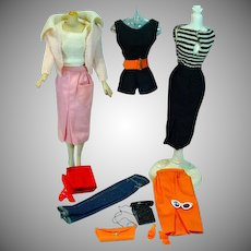Mattel Barbie Vintage Pak Mix & Match Separates, 1962-63