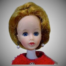 "Madame Alexander 12"" Brenda Starr Fashion Doll in Red Sheath, 1964"