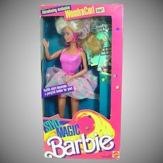 NRFB Mattel 1988 Style Magic Barbie