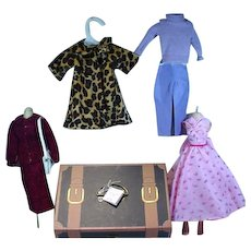 "Madame Alexander""A Day In The Life Of Cissy"" Trunk Set"