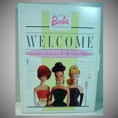 Mattel Barbie Collector's Club Charter Membership Kit, 1996