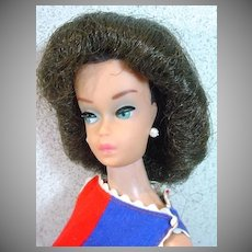 Vintage Mattel Barbie Fashion Queen in Fancy Free, 1963