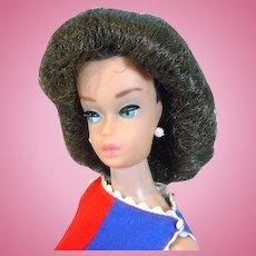 Vintage Mattel Barbie Fashion Queen in Fancy Free, 1963