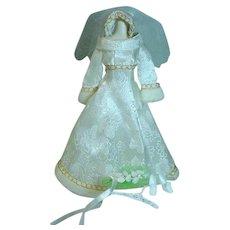 Vintage Mattel Barbie Outfit, Bridal Brocade, 1971