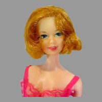 Vintage 1969 Mattel TNT Stacey Doll in Dream-Ins