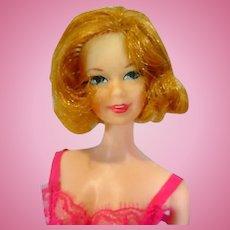 Vintage 1969 Mattel TNT Stacey Doll in Dream-Ins