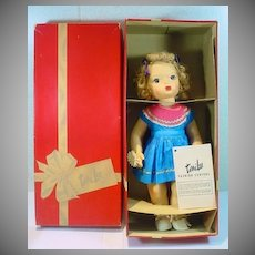 MIB Vintage 15 Inch Terri Lee Doll, 1950's