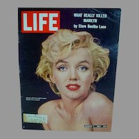 1964 Life Magazine Marilyn Monroe Cover