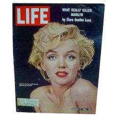 1964 Life Magazine Marilyn Monroe Cover