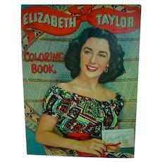 Whitman Elizabeth Taylor Coloring Book, 1950