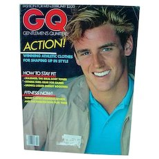Vintage GQ Fashion Magazine, Bruce Weber Photographs, 1981