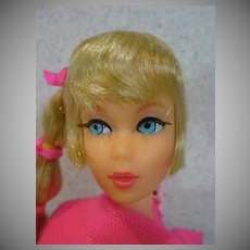 Mattel 1968 Blond Talking Barbie in Orig. Outfit
