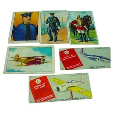 Vintage Cigar and Cigarette Trading Cards
