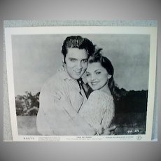 "Original Elvis Lobby Card for film, ""Love Me Tender"""