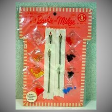 NRFB Mattel For Barbie Dress Makers Set, 1964