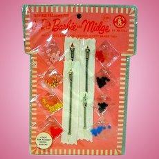 NRFB Mattel For Barbie Dress Makers Set, 1964