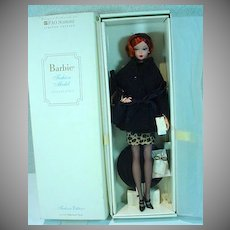 Mattel Barbie Silkstone Fashion Edition, MIB, FAO Schwartz Exclusive
