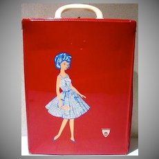 Vintage Rare French Tressy Carrying Case, 1960's