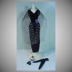 Vintage American Character Tressy Outfit, Black Magic, Complete, 1964
