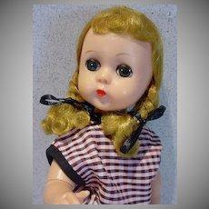 VIntage Madame Alexander Lissy Doll in Capri Set, 1957