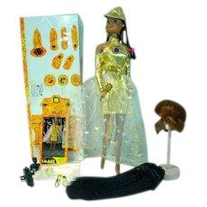 Imani The African American Princess Fashion Doll w/Wigs, Olmec Toys, 1994