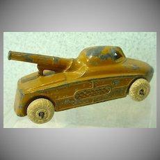 Vintage Die Cast Metal Toy Tank, 1930's