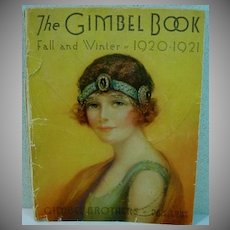 Gimbel Brothers Original Fall/Winter Catalog, 1920-21, Flapper Fashions!