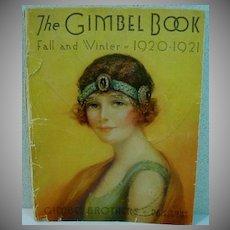 Gimbel Brothers Original Fall/Winter Catalog, 1920-21, Flapper Fashions!
