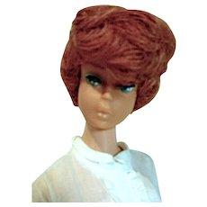 Vintage Mattel Titian Bubblecut Barbie in Disc Date, 1960's