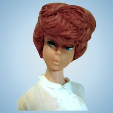 Vintage Mattel Titian Bubblecut Barbie in Disc Date, 1960's