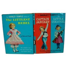 Set of Random House Shirley Temple Books with Photos and DJ, 1950's