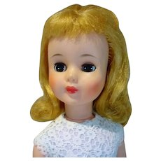 "Madame Alexander 17"" Polly Doll in Party Dress, 1965"