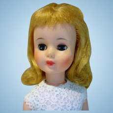 """Madame Alexander 17"""" Polly Doll in Party Dress, 1965"""