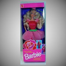 Vintage Mattel Party Changes Barbie, NRFB, 1992, Reve En Rose