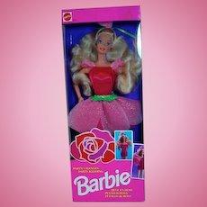 Vintage Mattel Party Changes Barbie, NRFB, 1992, Reve En Rose