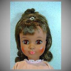 Vintage Madame Alexander African American Leslie Doll in Formal, 1965