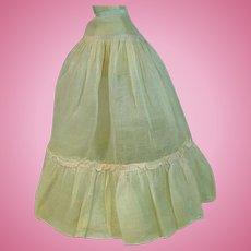 Vintage Madame Alexander Cissy Full Length Pink Slip, 1950's