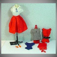 Vintage Mattel Barbie Pak Pieces, 1962
