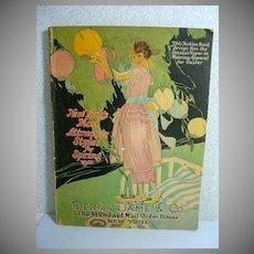 Antique Mail Order Fashion Catalog, NY Store 1921