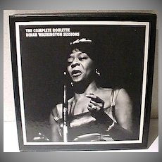 5 CD Boxed Set The Complete Roulette Dinah Washington Sessions, Mosiac, OOP