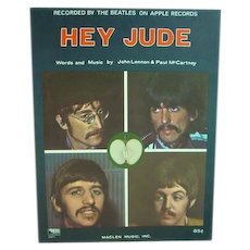 Original Beatles Sheet Music, Hey Jude