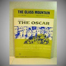 """We have just acquired a large collection of vintage sheet music and will be offering rare titles for auction  on e-bay over the coming weeks. This particular listing is for the piano solo from the 1966 film, """"Arabesque"""" arranged and composed by Henry"""