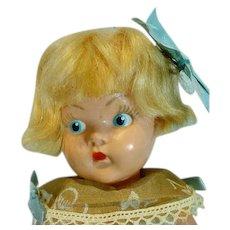 "Vogue Painted Eye Hard Plastic 8"" Doll, All Original, 1949"