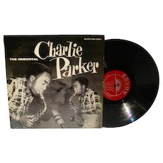First Pressing Savoy LP The Immortal Charlie Parker Plays New Masters