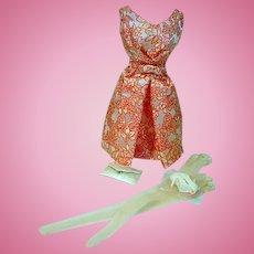 Dressmaker Details Couture Cocktail Dress Ensemble