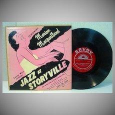 Jazz at Storyville Marion Macpartland 10 Savoy Jazz LP, 1951