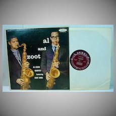 Al and Zoot, Coral Jazz LP, Al Cohn Quintet with Zoot Sims