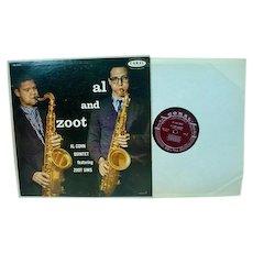 Al and Zoot, Coral Jazz LP, Al Cohn Quintet with Zoot Sims