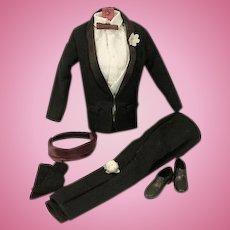 Vintage Mattel Ken Outfit, Tuxedo, 1961